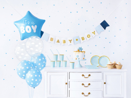 Babyshower Box Blauw
