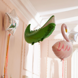 Folieballon Krokodil