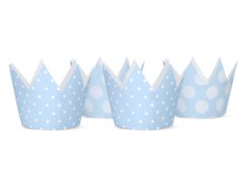 Kroontjes lichtblauw