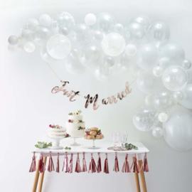 Ballonnenboog Wit