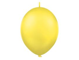Doorknoopballonnen  Geel