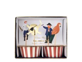 Cupcake Set - Pirates Bounty