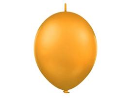 Doorknoopballonnen  Oranje