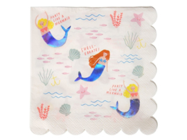 Servetten Mermaids