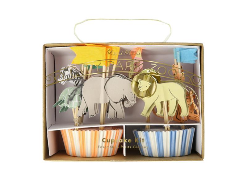 Cupcake Set -  Safari