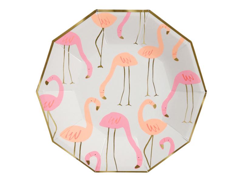 Bordjes Flamingo's