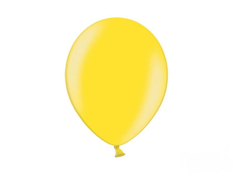 Metallic Ballonnen Geel