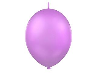 Doorknoopballonnen Lila