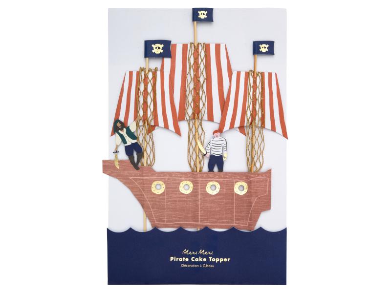 Cake Topper - Pirates Bounty
