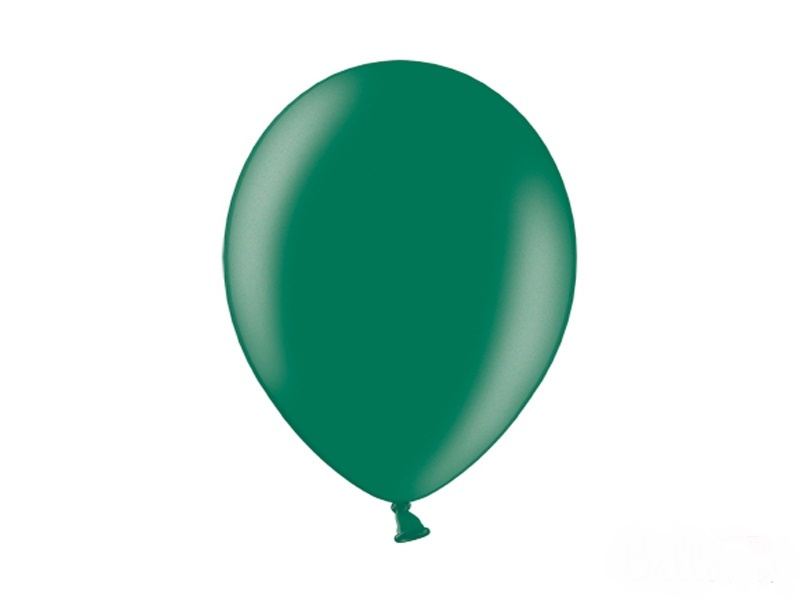 Metallic Ballonnen Donkergroen
