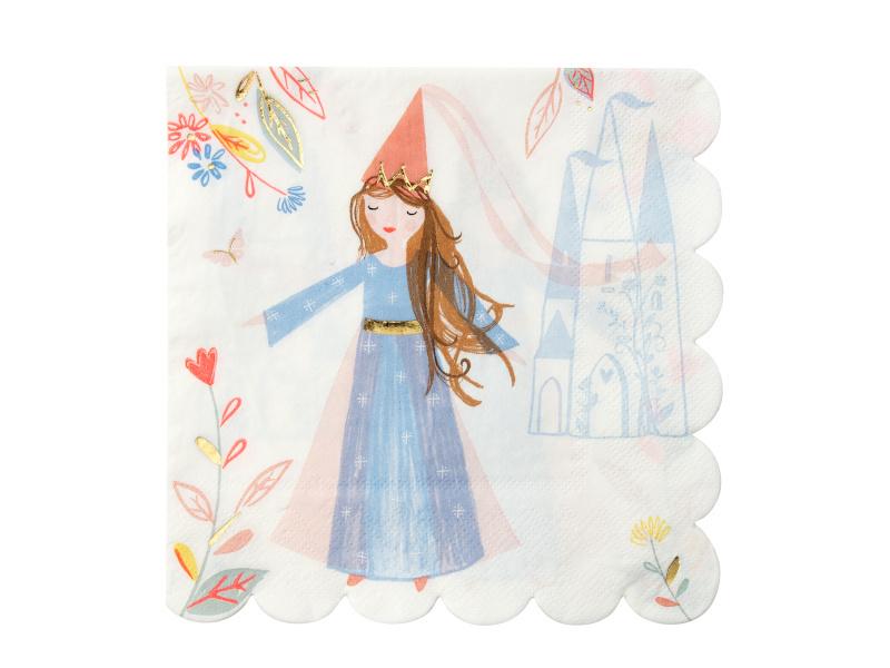 Servetten Magical Princess