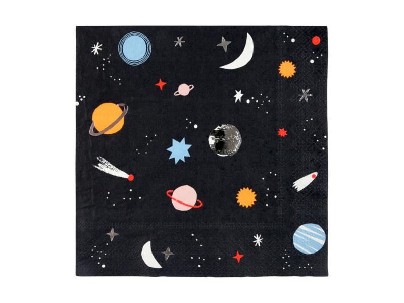 Servetten To the Moon