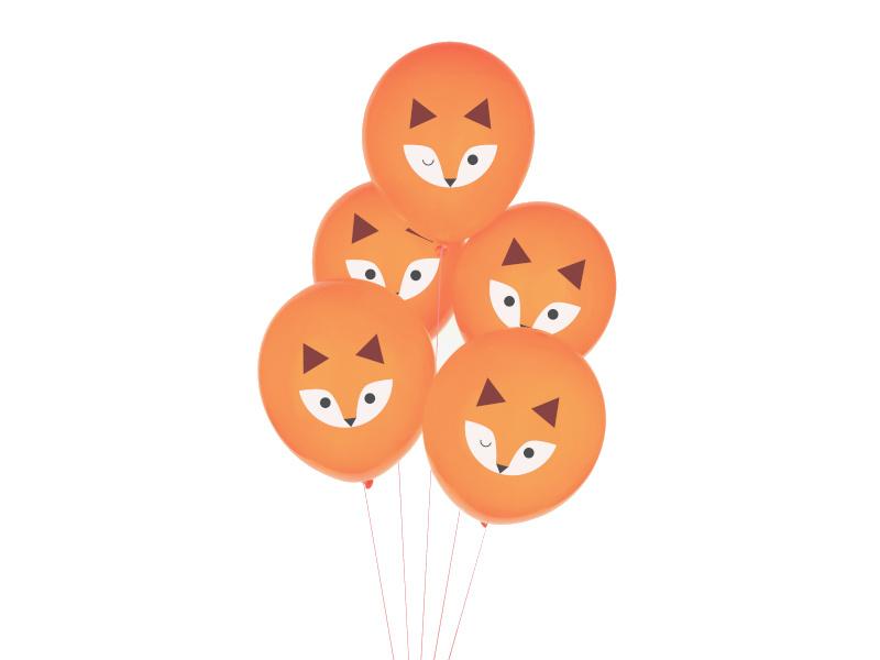 Ballonnen Mini Fox