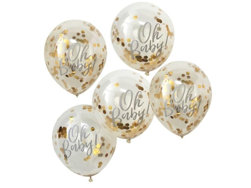 Confetti Ballonnen Oh Baby