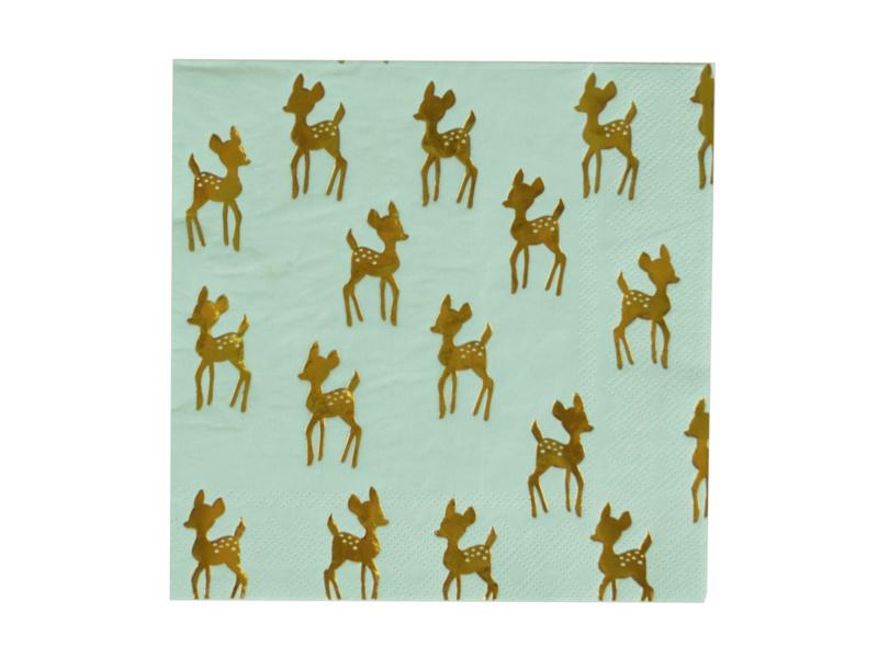 Servetten Golden Deer