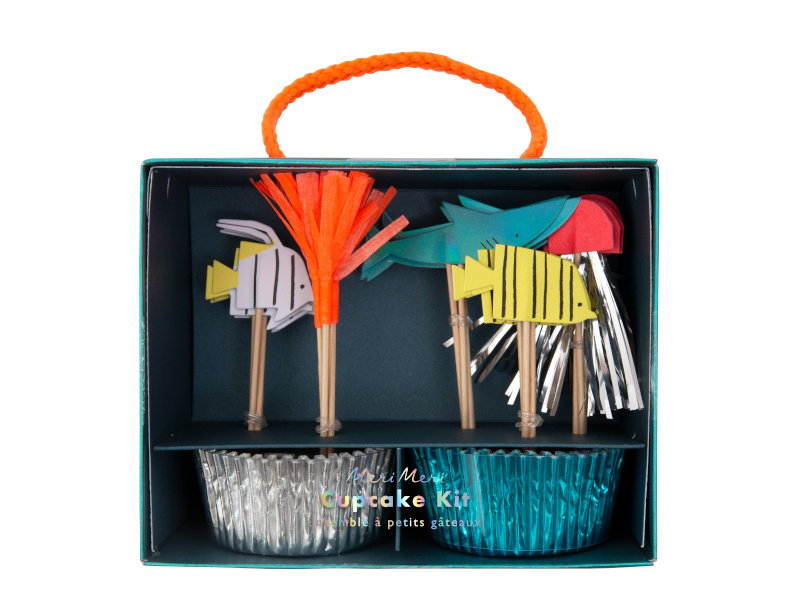 Cupcake Set - Under the Sea