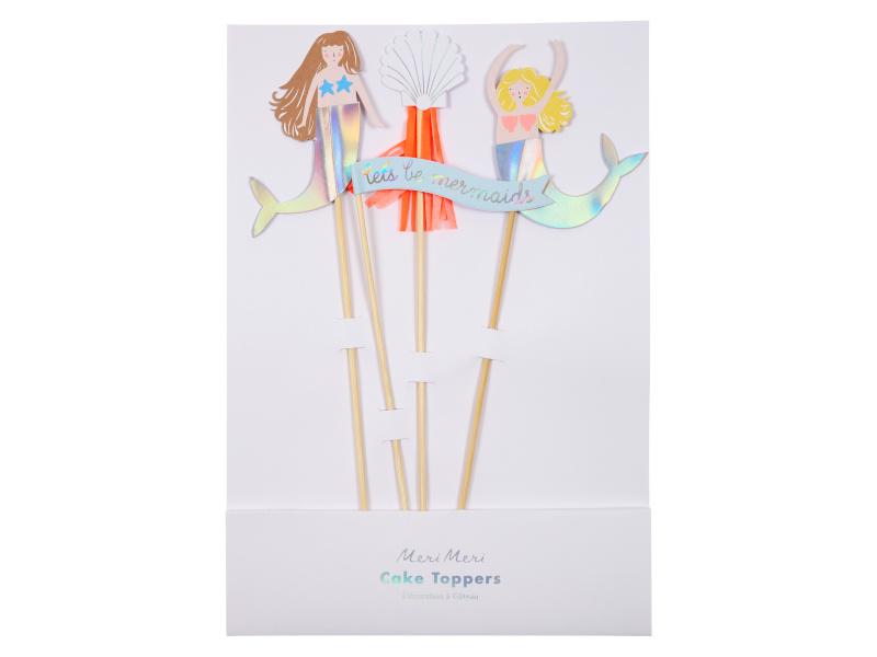 Cake Toppers - Mermaids