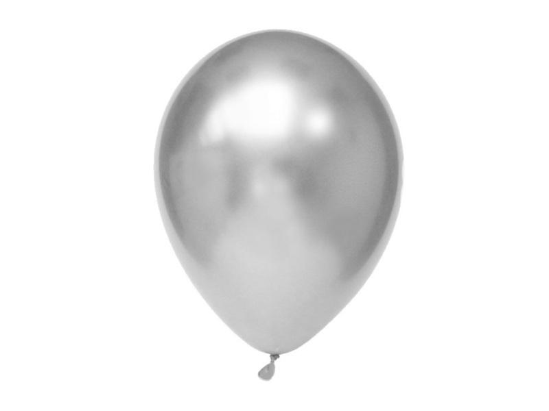Chroom Ballonnen Zilver