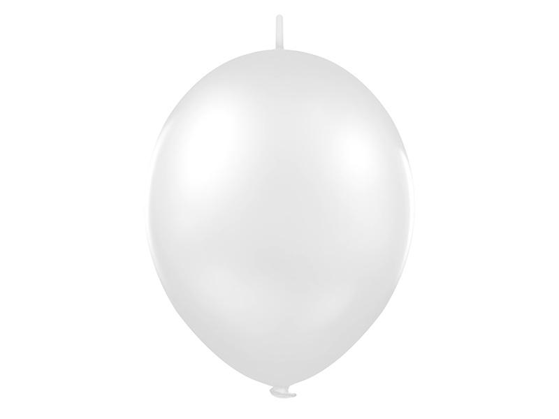 Doorknoopballonnen Zilver