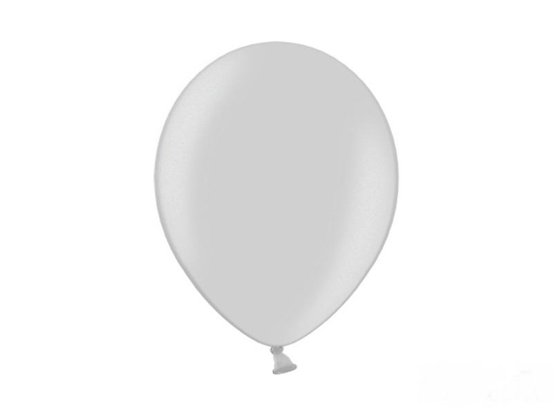 Metallic Ballonnen Zilver