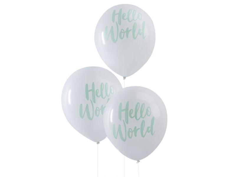 Ballonnen Hello World