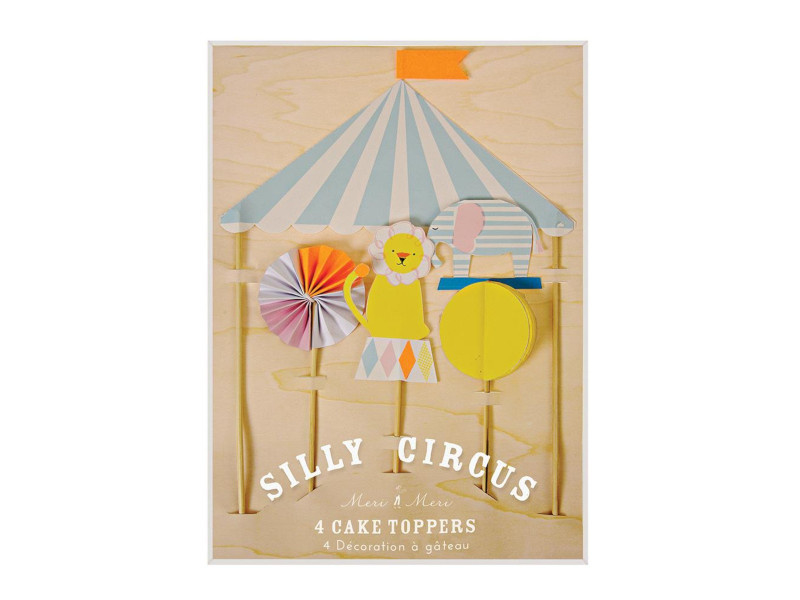 Cake Toppers - Silly Circus