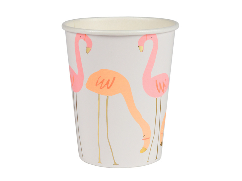 Bekertjes Flamingo