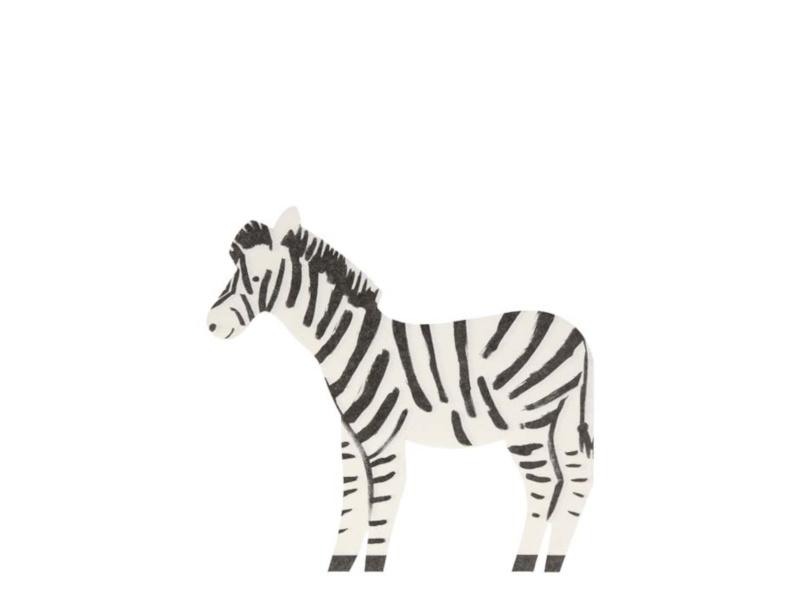 Servetten Zebra