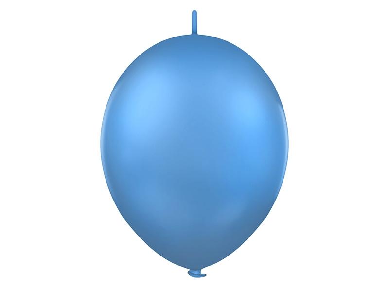 Doorknoopballonnen Blauw