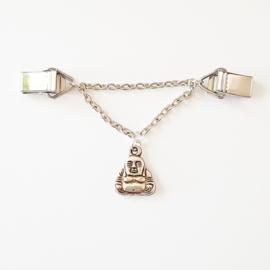 Vestsluiting ketting boeddha - TSH00155