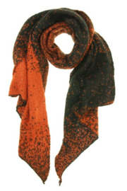 Sjaal brick zwart