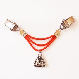 Vestsluiting koord boeddha (in 17 kleuren) - TSH00152