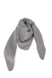 Driehoeksjaal grijs