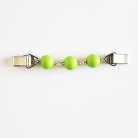 Vestsluiting kralen groen - TSH00241