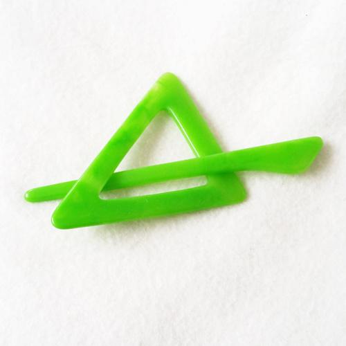 Vestspeld driehoek felgroen groot - D12227-31