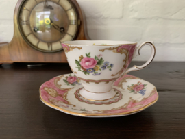Kop en schotel Lady Carlyle (Royal Albert)