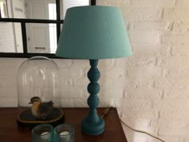 Schemerlamp turquoise