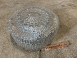 Plafondlamp helder glas