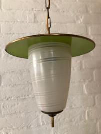 Hanglamp groen glas