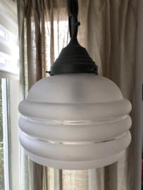 Hanglamp gesatineerd glas