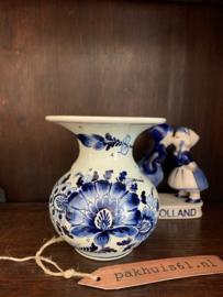 Vaasje Delfts Blauw 12 cm