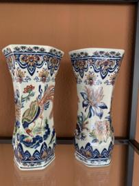 Beker vaas van Boch aardewerk