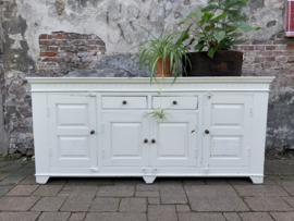 Koloniaal stoer dressoir - 200 cm