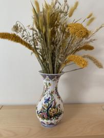 Vaas bloem|pauw 26 cm