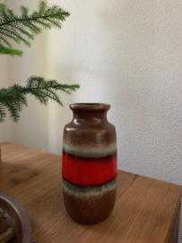 Rood|bruine vaas - West Germany