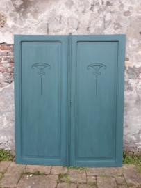 Twee panelen|deuren