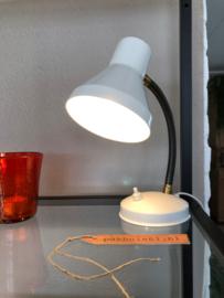 Bureaulampje wit