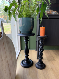 Plantenstandaard zwart - 60 cm