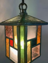 Hanglampje glas-in-lood