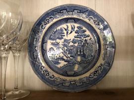 Bord blauw / wit chinees porselein